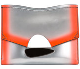 Proenza Schouler metallic clutch