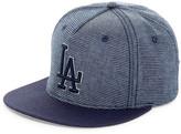 American Needle Indigo Go LA Dodgers Snapback Hat