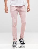 Heros Heroine Hero's Heroine Skinny Jeans With Paint Splatter