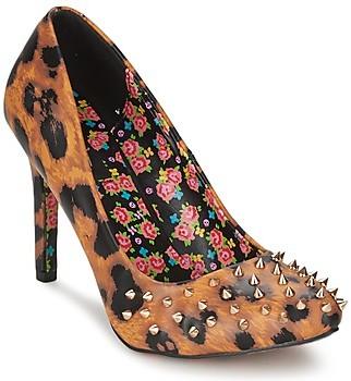 Iron Fist CHANGE YOUR SPOTS women's Heels in Brown