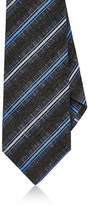 Kiton Men's Striped Wool-Blend Necktie