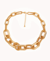 FOREVER 21 Popcorn Chain-Link Necklace