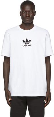 adidas White Premium T-Shirt