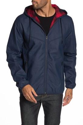 Weatherproof Vintage Faux Leather Bonded Polar Fleece Jacket