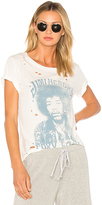 Daydreamer Foxy Lady Tee in White. - size L (also in M,S)