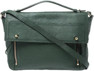 3.1 Phillip Lim Green Leather Pashli Top Handle Bag