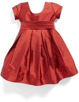 Isabel Garreton Girl's Cap Sleeve Taffeta Dress