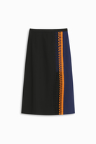 Christopher Kane Loop Trim Knee Length Skirt