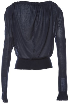 Nina Ricci Blue Cashmere Top for Women