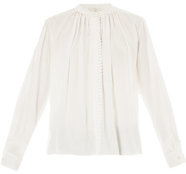 Vanessa Bruno Lace trimmed blouse