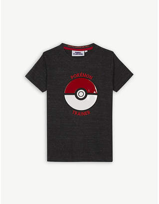 Pokemon Fabric flavours trainer cotton-blend T-shirt 3-10 years