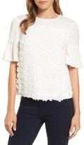 Draper James Women's Fleurette Lace Top