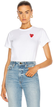 Comme des Garcons Tee Shirt in White | FWRD