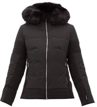 Fusalp - Gardena Iii Faux-fur Trim Ski Jacket - Womens - Black