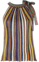 Missoni striped top - women - Polyester/Cupro/Viscose - 42