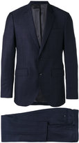 Hackett checked two-piece suit - men - Wool/viscose - 54