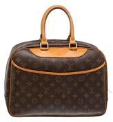 Louis Vuitton Deauville leather satchel