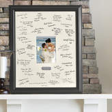 JDS Personalized Gifts Personalized Gift Wedding Wishes Signature Picture Frame