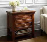 Pottery Barn Bowry Reclaimed Wood Bedside Table