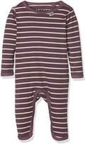 Papfar Baby Girls' Taylor Stripe Spieler Langarm Romper,(Manufacturer Size: 3M)
