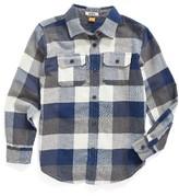 Tailor Vintage Toddler Boy's Plaid Flannel Shirt