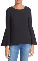 Elizabeth and James Women's Raleigh Bell Sleeve Top