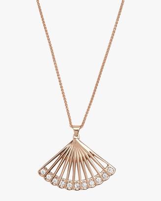Zoe Fan Necklace