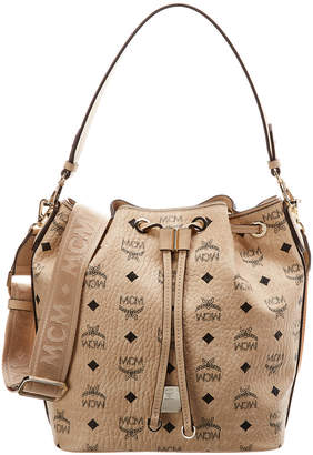 MCM Essential Visetos Drawstring Crossbody