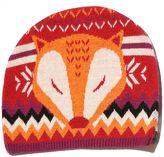 Yumi Fox Print Beanie Hat