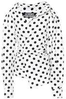 Jacquemus La Chemise Elie polka-dot blouse