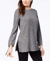 Style&Co. Style & Co Petite Ribbed-Knit Tunic Sweater, Created for Macy's