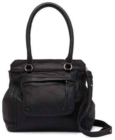 Liebeskind Berlin Malavi Front Pocket Leather Shoulder Bag