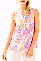Lilly Pulitzer Kery Silk Top