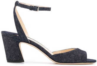 Jimmy Choo Miranda 65 denim sandals