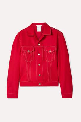 Helmut Lang Denim Jacket - Red