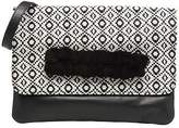 Cosmo Paris Bags's Cosmoparis Sac-Kobi Clutch Bags In Black - Size Uk U.S / Eu T.U