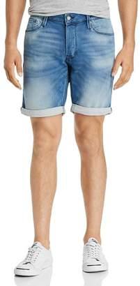 Jack and Jones JACK + JONES Icon Regular Fit Denim Shorts in Light Blue
