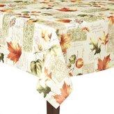 "Autumn Rustic Leaves Jacquard Tablecloth 60""x 102"""