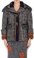 Prada Women's Chunky-Knit-Detailed Wool Jacket