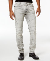 True Religion Men's Rocco Slim-Fit Stretch Biker Jeans
