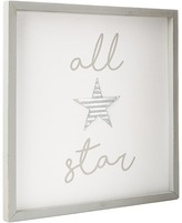 Mud Pie All Star Plaque Accessories Travel