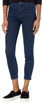 J Brand Alana High-Rise Crop Skinny in Dash (Dash) Women's Jeans