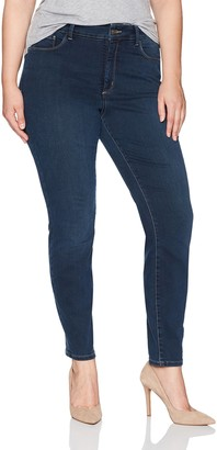 NYDJ Women's Plus Size Ami Super Skinny Jeans in Future Fit Denim
