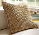Pottery Barn Paper Crochet Pillow Cover