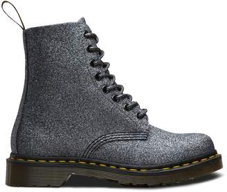 Dr. Martens Pascal Glitter Ankle Boots with Lace-Up Fastening