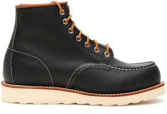 Red Wing Shoes Moc Toe Boots 8859