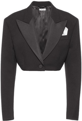 Miu Miu Cropped Dinner Blazer