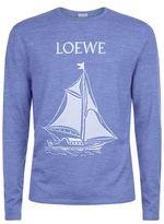 Loewe Sail Boat Wool Top