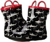 Robeez Shark Bite Rain Boot Mini Shoez (Infant/Toddler)