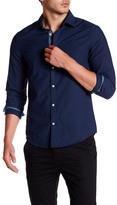 Original Penguin Long Sleeve Slim Fit Core Oxford Shirt